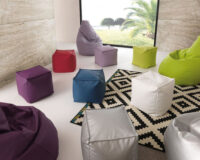 Pouf design Made in Italy